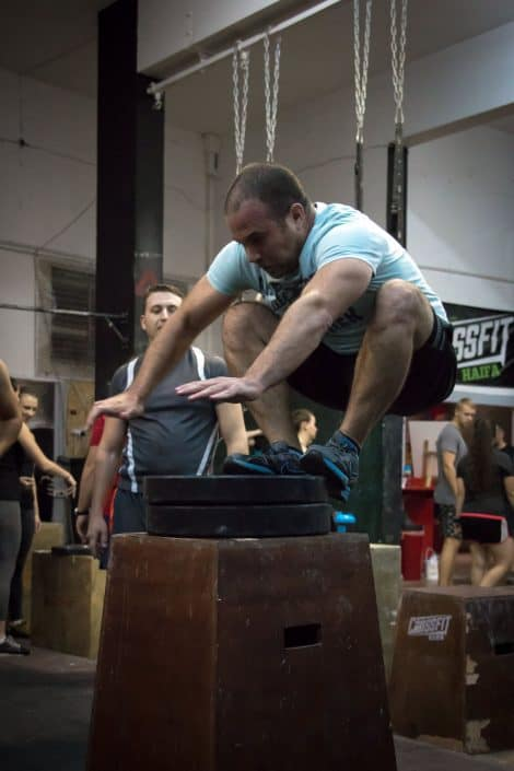 שיא אישי חדש בקפיצת קופסא בקרוספיט חיפה