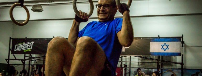 בקרוספיט חיפה מתאמנים בגיל 75 ומעלה