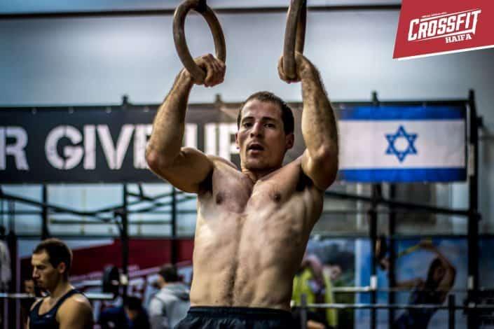 משה מצליח מאסל אפ סטריקט בטבעות בקרוספיט חיפה